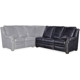 Bradington Young Pauley RAF Sofa Recline At Arm w/Articulating Headrest 942-62