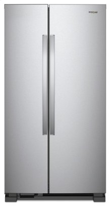 GIVE-AWAY-PRICE: WHIRLPOOL STANDARD DEPTH 36-inch Wide Side-by-Side Refrigerator - 25 cu. ft. *EXHANGED FOR FRENCH DOOR MODEL/PRISTINE CONDITION- ACT NOW!