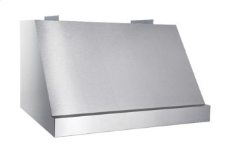 "Classico - 48"" Stainless Steel Pro-Style Range Hood with internal/external blower options"