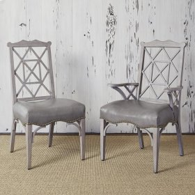18th Century Side Chair - Grey