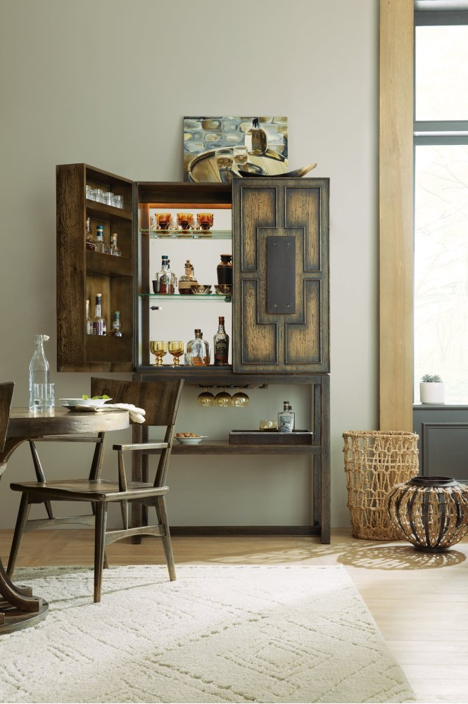 hidden bar furniture. Additional Crafted Bar Cabinet Hidden Furniture