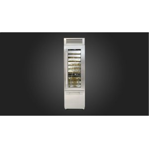 "Fulgor Milano24"" Pro Wine Cellar - Right Door - Stainless Steel"