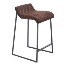 Father Counter Stool Vintage Brown
