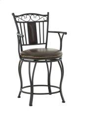 "Barbara Swivel Chair, 19""x17""x"