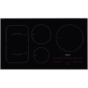 MieleKM 6370 Induction Cooktop with PowerFlex cooking area for maximum versatility and performance.