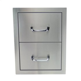 RCS Stainless Double Drawer - RDR1