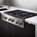 "DacorDiscovery 48"" Gas Rangetop,, in Stainless Steel with Liquid Propane"