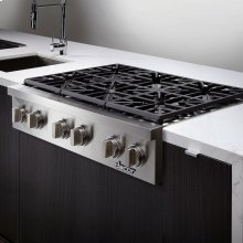 "Discovery 48"" Gas Rangetop,, in Stainless Steel with Natural Gas"