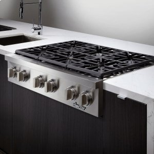 """DacorDiscovery 36"""" Gas Rangetop,, in Stainless Steel with Liquid Propane"""