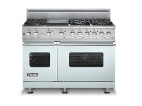 """48"""" Custom Sealed Burner Self-Cleaning Range, Natural Gas, No Brass Accent"""