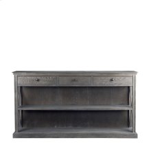 French Casement Console Grey