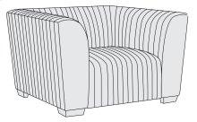 Kent Chair in Mocha (751)