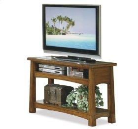 Craftsman Home Console Table Americana Oak finish