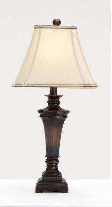 Brown Transitional Wood Look Lamp