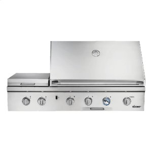 """Dacor52"""" Outdoor Grill, Stainless Steel, Liquid Propane"""
