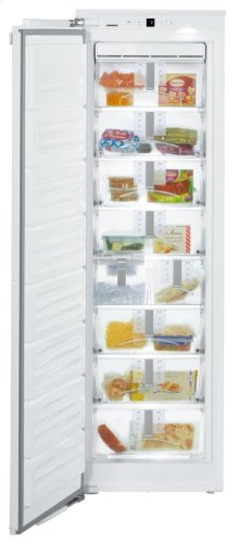 "24"" Freezer for integrated use with NoFrost"
