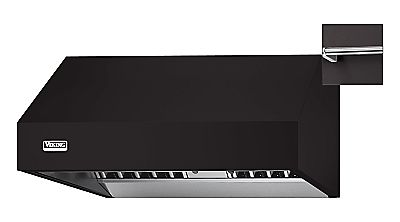 "36"" Wide 24"" Deep Wall Hood, Chrome Accessory Rail"