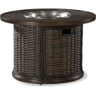 """South Hampton 42"""" Round Gas Fire Pit Product Image"""