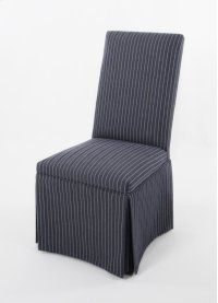 A straight top skirted chair Product Image
