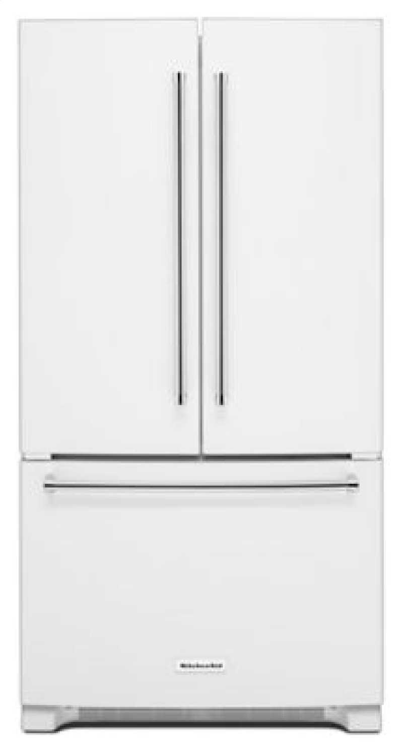 standalone french kitchenaid counter inch door depth dispense refrigerator ft width cu with interior