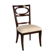 Central Park Oval Back Side Chair