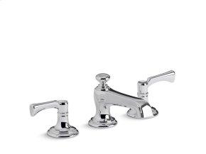 Sink Faucet, Traditional Spout, Lever Handles - Chrome