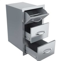 Classic Series 36-Inch Double Door Flush Mount