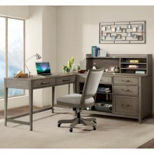 Vogue - Hutch - Gray Wash Finish