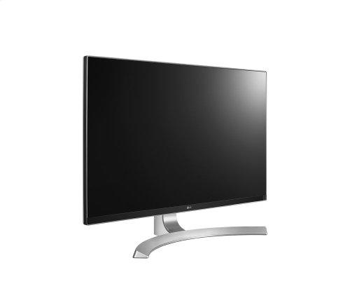 """27"""" class (27"""" diagonal) Ultra HD 4K Monitor"""