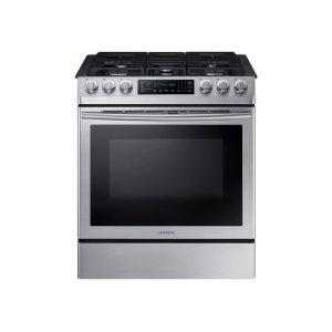 SAMSUNG5.8 cu. ft. Slide-in Gas Range with Fan Convection