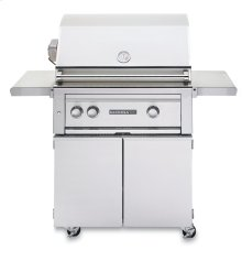 "30"" Sedona by Lynx Freestanding Grill - 2 SS Tube Burners with Rotisserie NG - Ships Assembled"