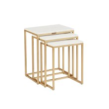Stone/marble Luxe Nesting Tables
