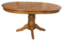 "30""H Pedestal Table w/1-15"" Butterfly Leaf"