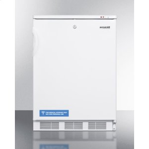 Commercial Built-in Undercounter Medical All-freezer Capable of -25 C Operation, With Front-mounted Lock -