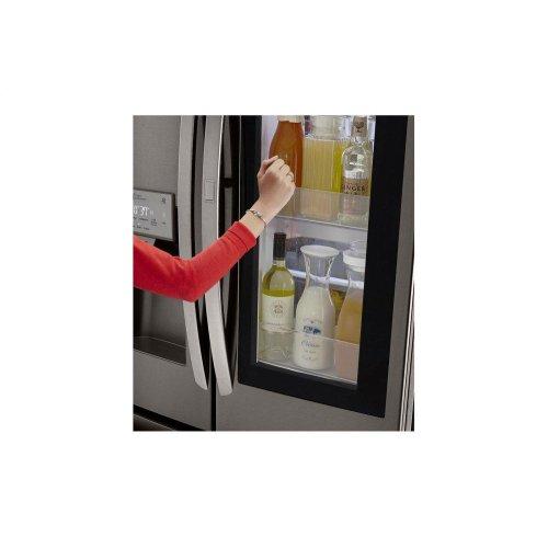 22 cu  ft  Smart wi-fi Enabled InstaView Door-in-Door® Counter-Depth  Refrigerator