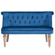 Malika Settee in Blue Product Image