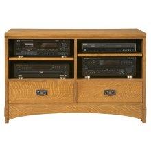 """Oak 44"""" TV Console"""