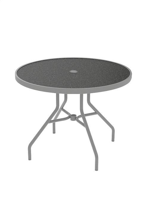 "Raduno 36"" Round HPL Dining Umbrella Table"