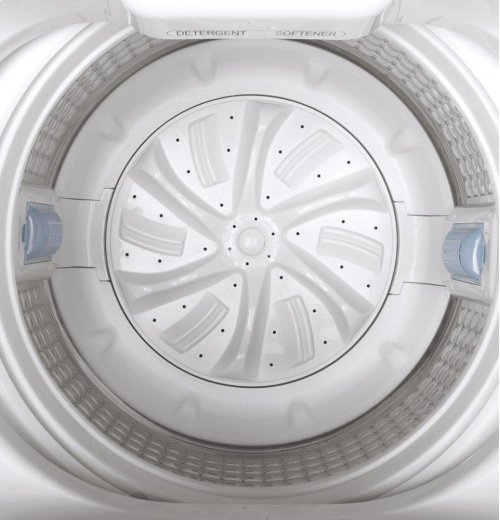 GE® Space-Saving 2.8 DOE cu. ft. Capacity Portable Washer with Stainless Steel Basket