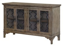 Wyndham 4 Door Wood & Veneer Sideboard