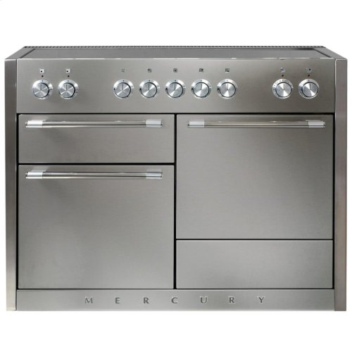 White AGA Mercury Induction Range  AGA Ranges