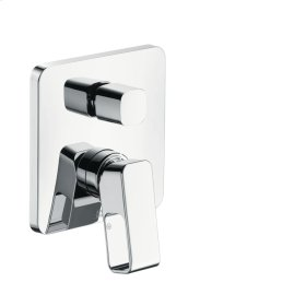 Polished Red Gold Single lever bath mixer for concealed installation