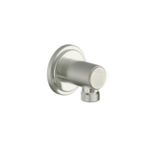 Hand Shower Wall Outlet Darby (series 15) Satin Nickel