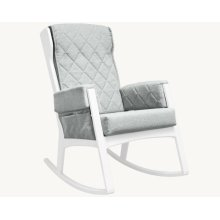 Margot - Light Grey and White Glider