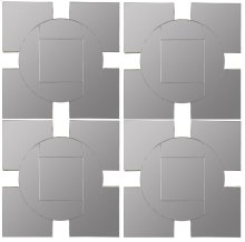 Tupan Mirrors- Set Of 4