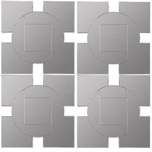 Tupan Mirrors- Set Of 4