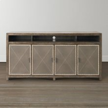 Western Brown Compass Sideboard