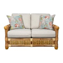 Loveseat, Available in Natural Finish Only.