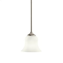 Wedgeport Collection Mini Pendant 1Lt Fluorescent NI