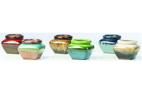"4"" Square Self-Watering Pots - Set of 6"